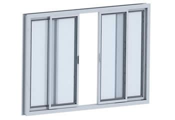 Janela de Alumínio - Prime Vidros