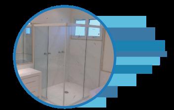 Box de Banheiro Vidraçaria em Vila Velha